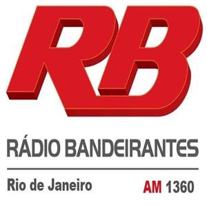 Ouvir agora Rádio Bandeirantes 1360 AM - Rio de Janeiro / RJ