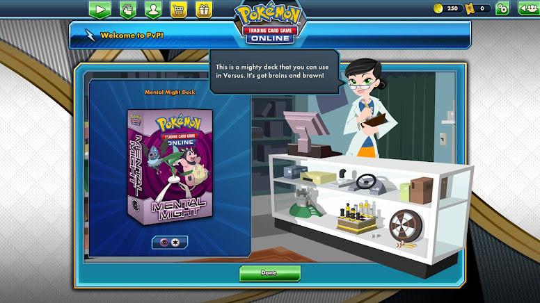 Pokémon TCG Deck Poder Mental