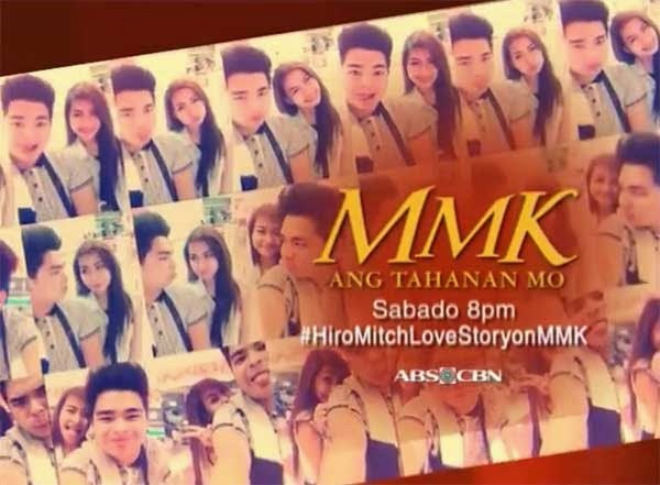 Hiro-Mitch love story on MMK starring Janella Salvador and Hiro Mallari
