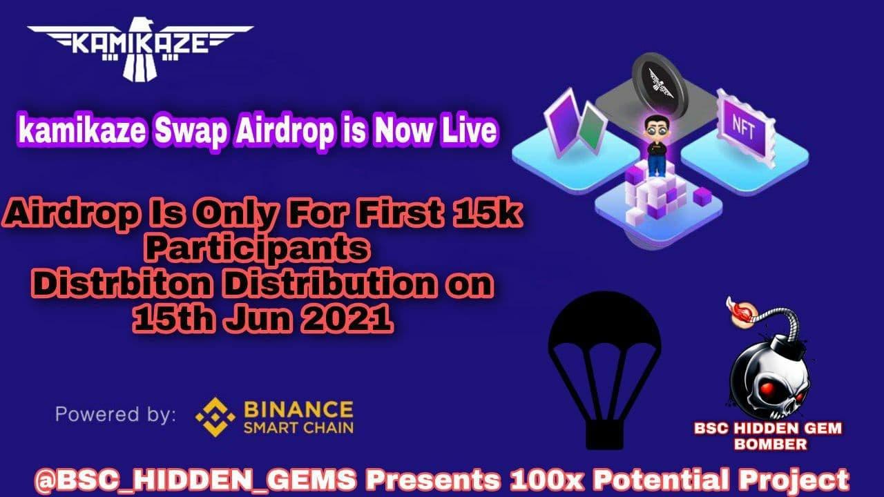 Airdrop: Kamikaze Swap