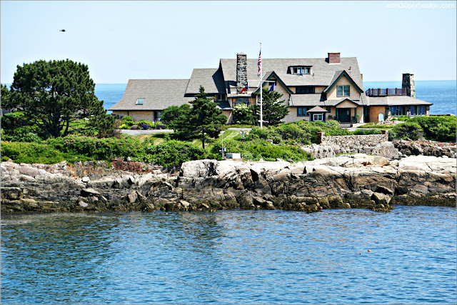 Casa de la Familia Bush en Kennebunkport, Maine