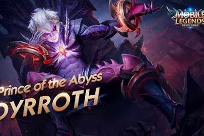 Hero Dyrroth Fighter Mematikan di Mobile Legends