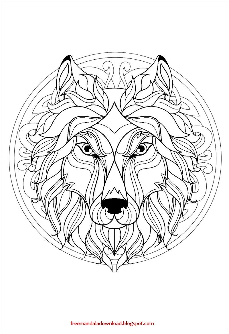 Einfache Mandalas Malvorlagen Leon Mandala Pdf Download ...
