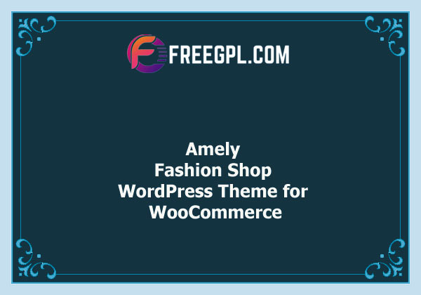 Amely – Fashion Shop WordPress Theme for WooCommerce Nulled Download Free