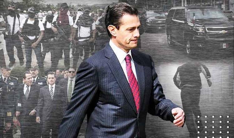 """""""El miedo no anda en burro"""", Las veces que el Estado Mayor Presidencial de Peña Nieto huyó de la tierra de Los Zetas y el CDG"""