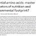 Aminoácidos essenciais: reguladores mestres de nutrição e pegada ambiental?