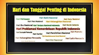 hari dan tanggal penting di indonesia - kanalmu