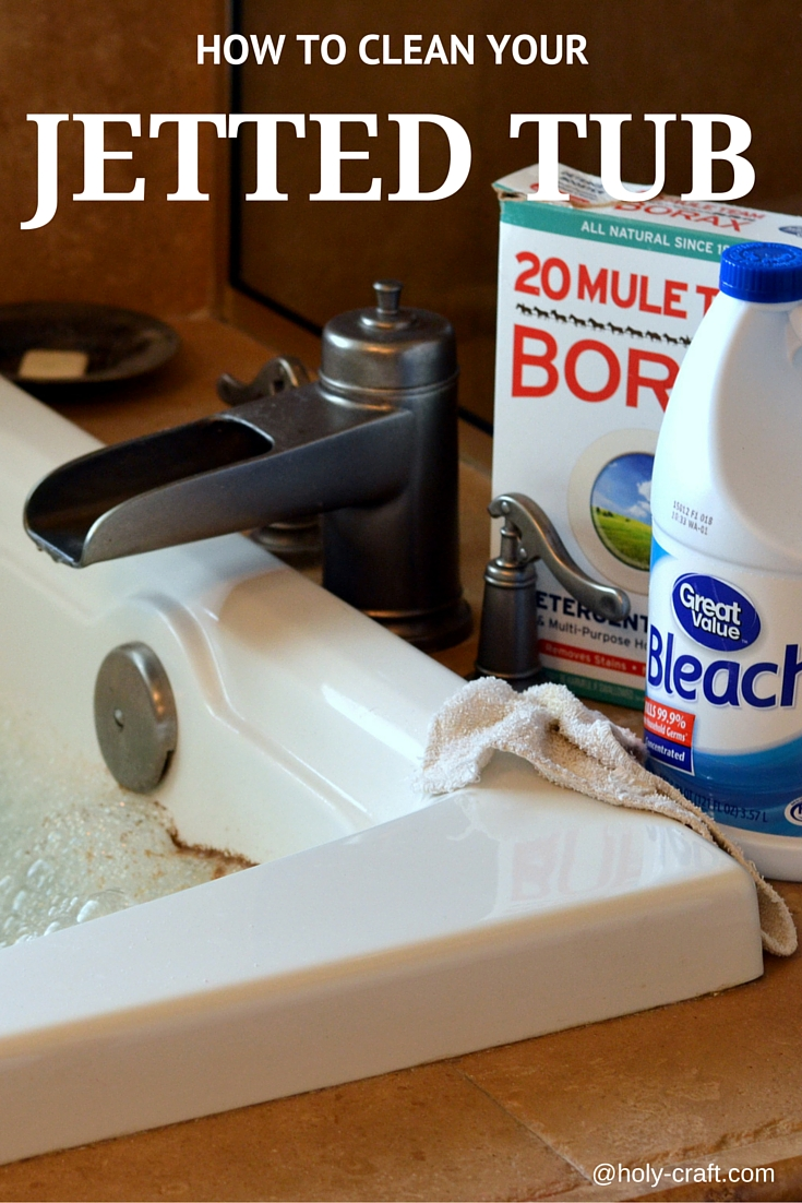 How To Clean Your Jetted Tub Rachel Teodoro