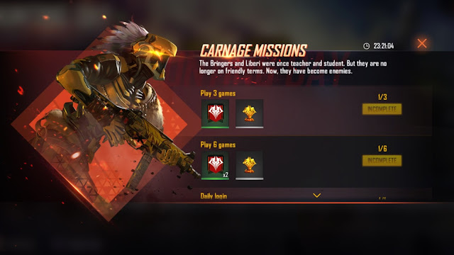 Cara Bermain Event Rampage 2.0 Faction Free Fire