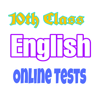 10th Class English Online Exams