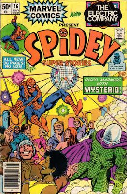 Spidey Super-Stories #46, Mysterio