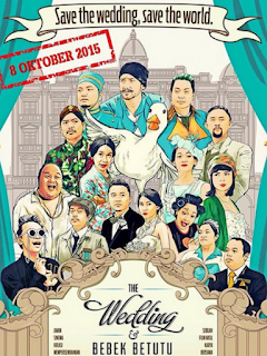 Download Film The Wedding & Bebek Betutu (2015) HDTV Full Movie
