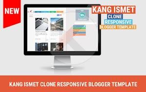 Kang Ismet blogger template