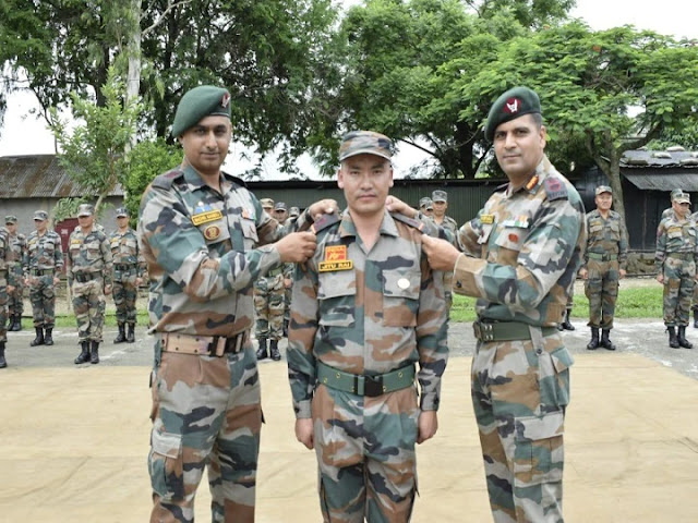 India's Ace Pistol Shooter Jitu Rai Promoted To Rank Of Subedar Major In Indian Army's 11 Gorkha Rifles