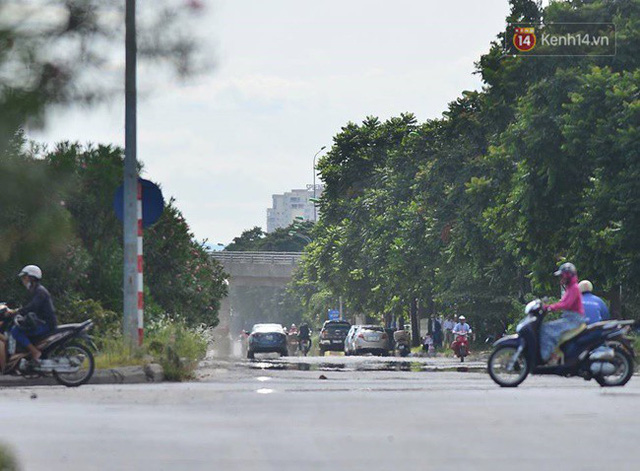 Nắng nóng tại Hà Nội, đại lộ Thăng Long