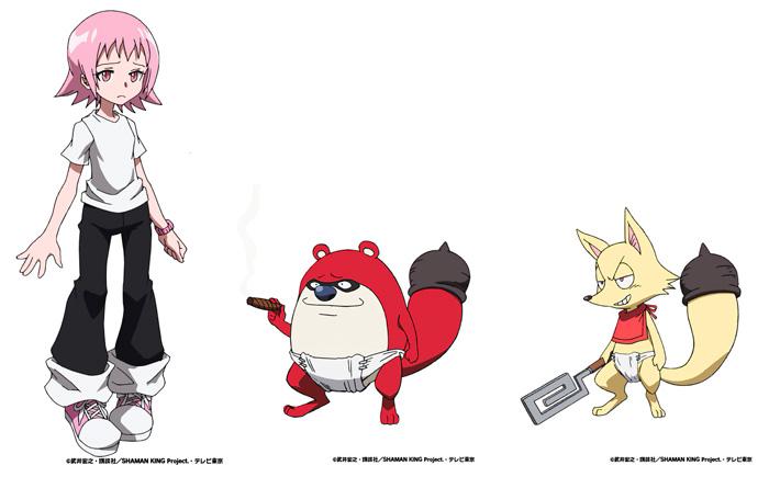 Shaman King anime (2021) - personajes