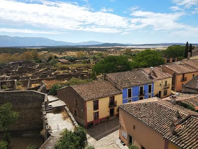 Vista de La Villa desde lo alto de la Torre Caballera