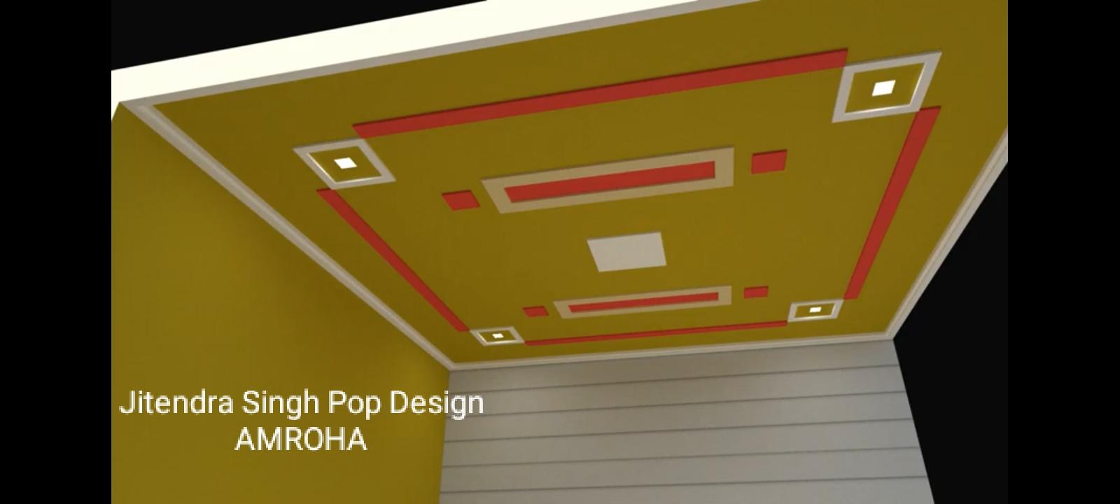 Plus Minus Pop Designs For Lobby Jitendra Singh Pop Design