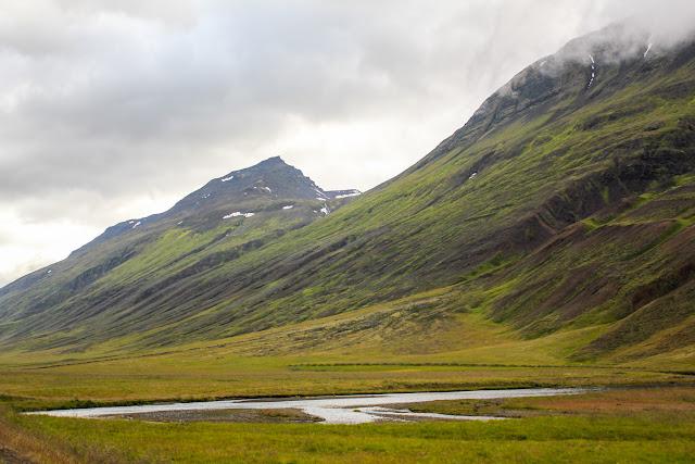 Paisajes del norte de Islandia