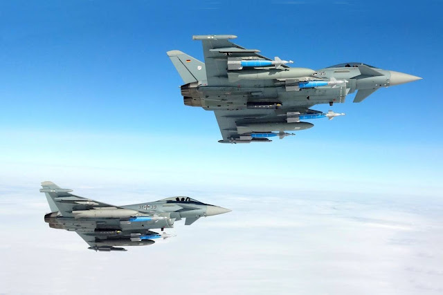 Germany new Eurofighters AESA radar