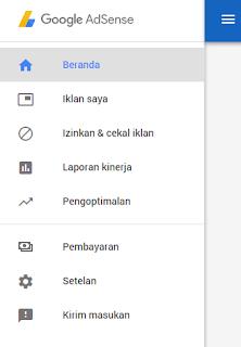 Homepage Adsense