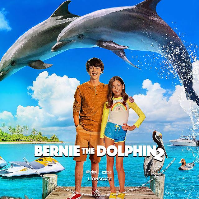 Bernie the Dolphin 2 DVD Label