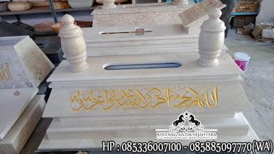 Model Makam Bokoran Marmer | Kijing Makam Marmer Model Mewah