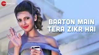 Baaton Mein Tera Lyrics | Yuwin Kapse | Nibedita Pal | Azam Ansari