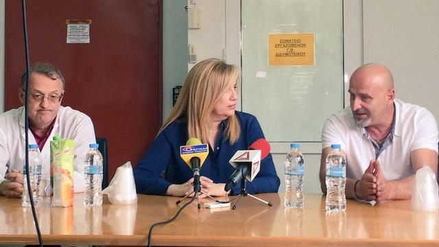 Φ. Γεννηματά από τον Έβρο: Επαχθής η συμφωνία, χρειάζεται νέα - Η κυβέρνηση γκρεμίζει ότι έχει μείνει όρθιο στο ΕΣΥ