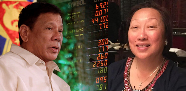 Don't blame weakening peso on Duterte's mouth, says Vivian Yuchengco