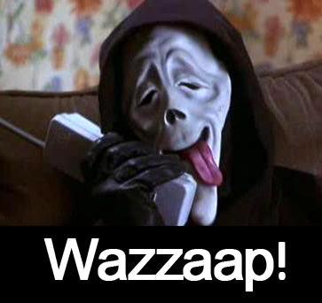 Ghostface from Scary Movie  Ok  n  227 o resisti  Scary Movie 1 Scream Wazzup