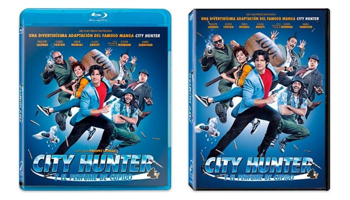 City Hunter y el perfume de Cupido (Selecta Visión) - Blu-ray y DVD