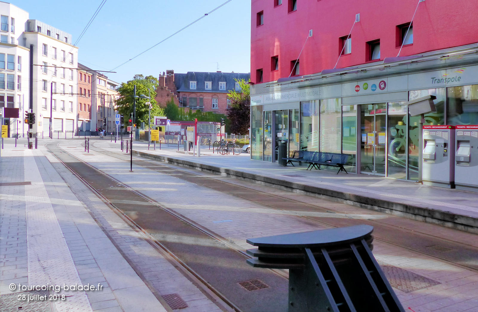Tramway Tourcoing - Avocats Cuvelier, Tran