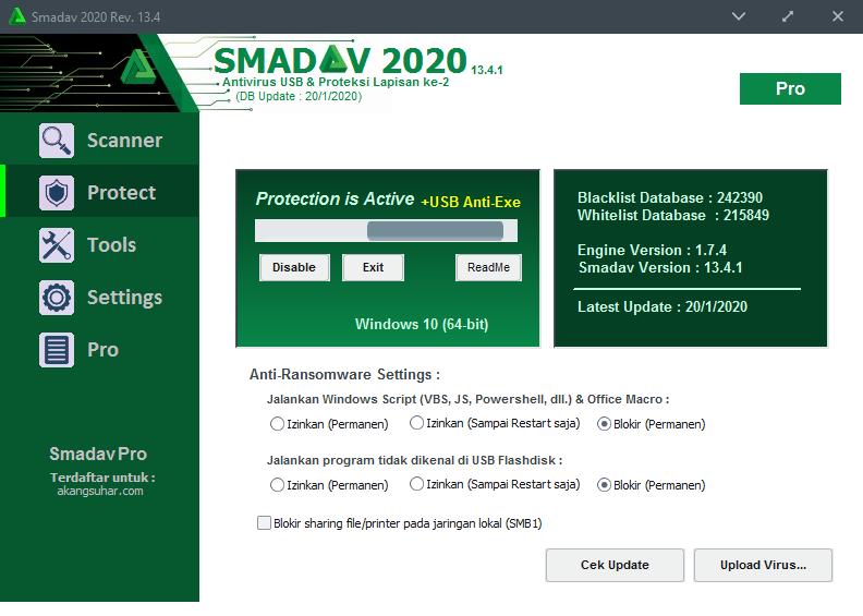 Download Smadav Pro Serial Key