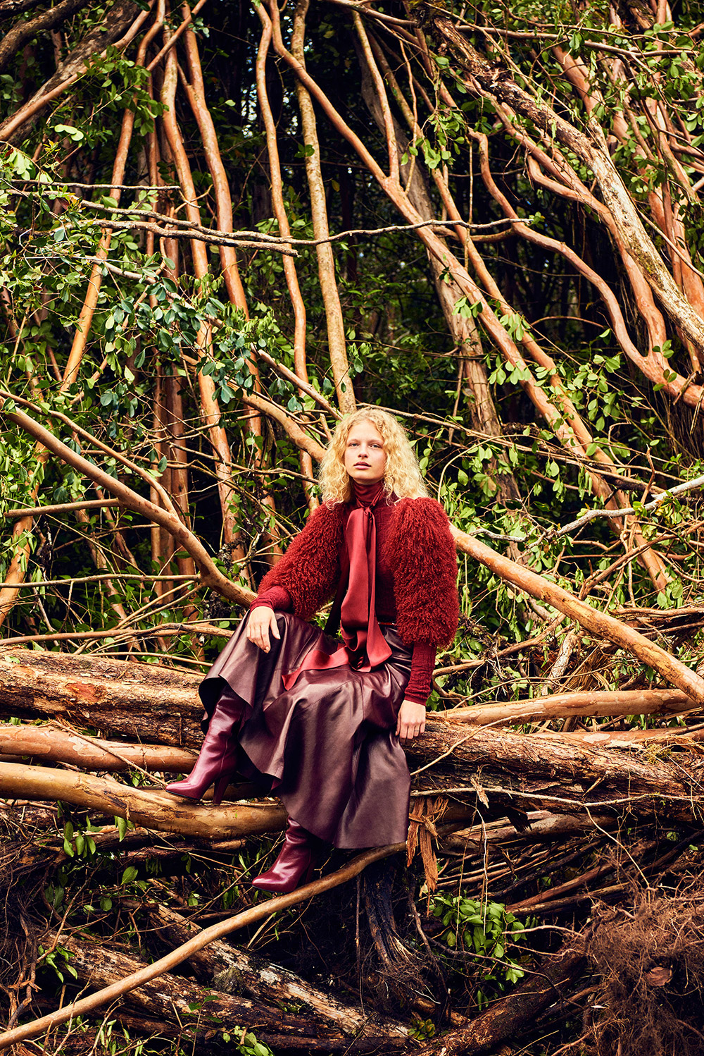 Frederikke Sofie by Ryan McGinley for Vogue China September 2016