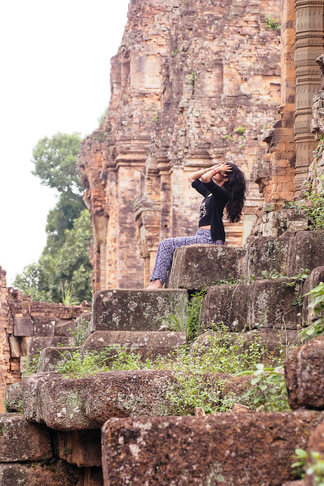 Temple hopping in Siem Reap