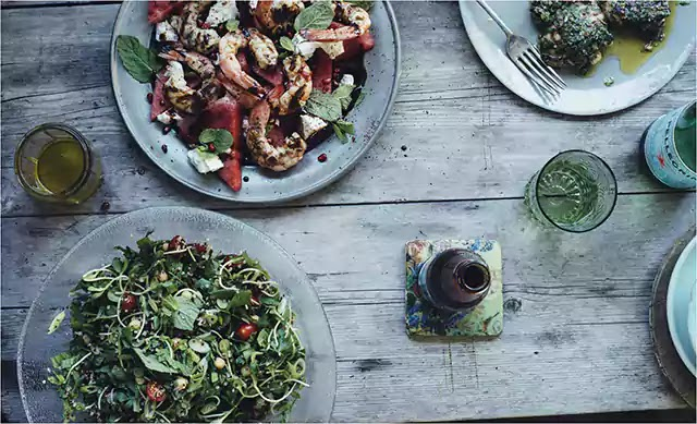 12 healthy dinner foods in usa that cool for hot days