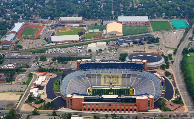 3 Michigan Stadium