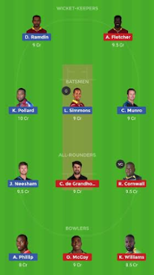 TKR VS SLZ dream 11 team | SLZ vs TKR