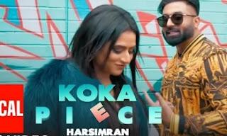 Harsimran : Koka Piece Lyrics | Kaptaan |