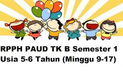 RPPH PAUD TK B Semester 1 Usia 5-6 Tahun