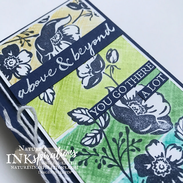 By Angie McKenzie for the Crafty Collaborations Watercolor Pencils Blog Hop; Click READ or VISIT to go to my blog for details! Featuring Shaded Summer Cling Stamp Set along with the Watercolor Pencils Assortment 2 by Stampin' Up!; #handmadecards #justbecausecards #thankyoucards #coloringwithwatercolorpencils #stamping #shadedsummer #20212022annualcatalog #naturesinkspirations #makingotherssmileonecreationatatime #coloringtechniques #crosshatch #stampinup #stampinupcolorcoordination