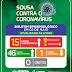 Com mais 03 confirmados de Covid-19 Sousa eleva para 15 o número de casos nesse sábado (02)