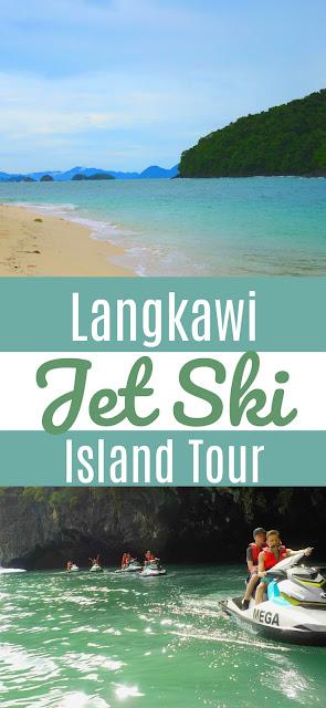 Langkawi jet ski island hopping tour