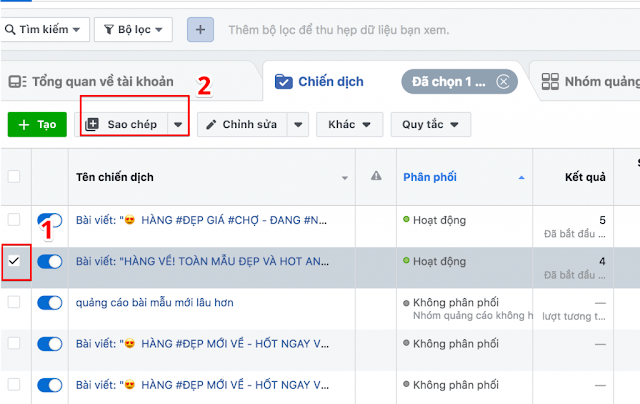 Chỉnh Sửa Quảng Cáo Trên Facebook