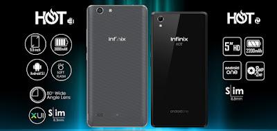 Compare Infinix Hot 3 vs. Infinix Hot 2