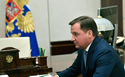 Acting Governor of the Nenets Autonomous Area Alexander Tsybulsky.