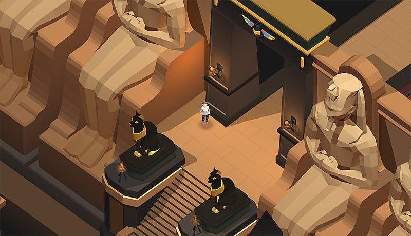 تحميل لعبة المغامرات الأكثر من رائعة trick art dungeon للاندرويد