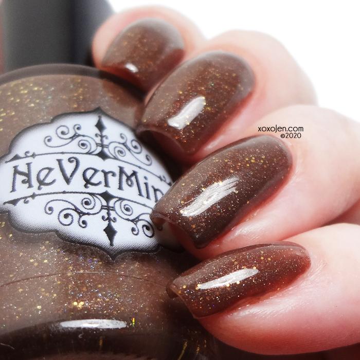 xoxoJen's swatch of Nevermind: Eevee