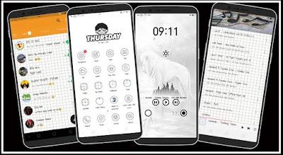 Tema Oppo A83, F5, F7, A3S dan Realme Terbaru